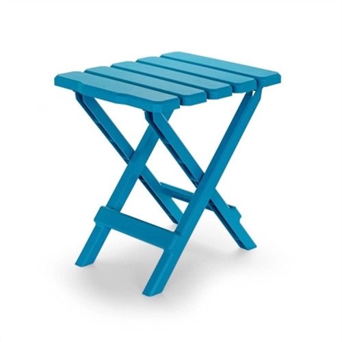 Plastic Folding Table Aqua