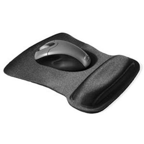Gel Mouse Pad wWrist Rest Blk