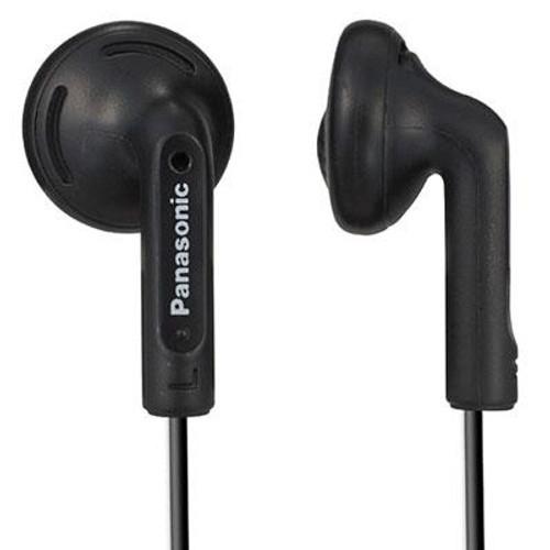 Earbud Headphones Black