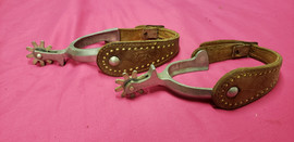 Western Spurs U-Shank 9 points with Straps (price includes tax) STK#31728-242