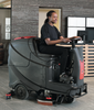 """Viper AS850R-242 32"""", 31-Gallon Ride-On Scrubber With 242 Ah Battery"""