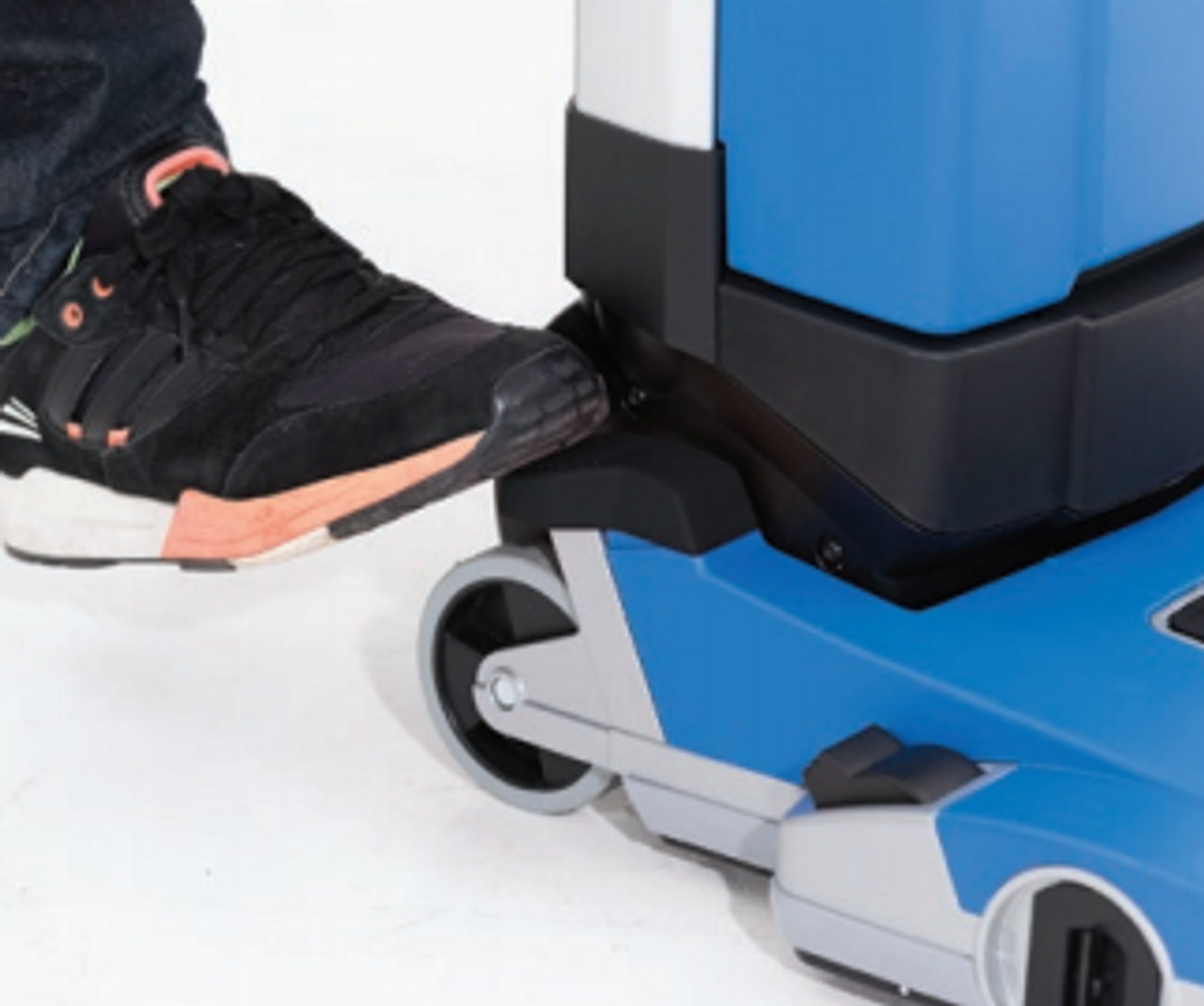 Foot activated controls