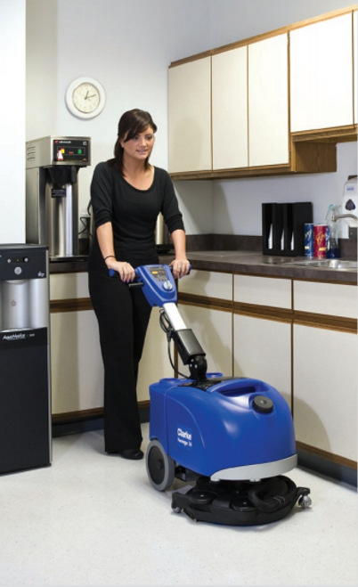 Patented Rotating Deck - cleaning commercial kitchen space