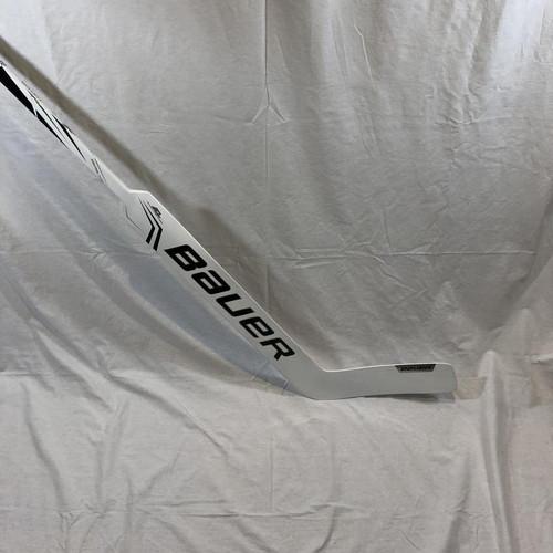 """New Hollett Pro Stock Bauer 2S Goalie Stick (Skinned As 2X) (27.5"""")"""