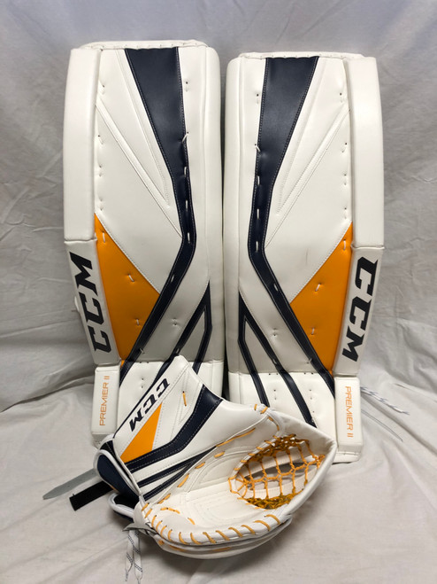 New Hutton CCM Premier II Pads and Glove (35+2.5)