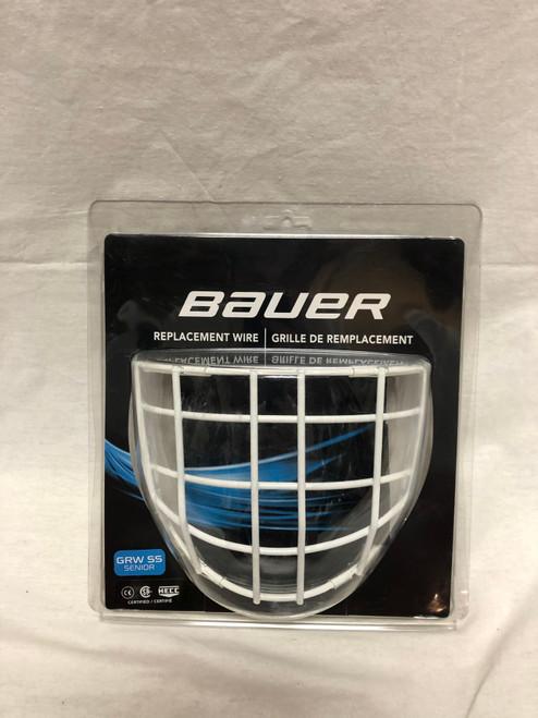 New White Bauer Goalie Cage