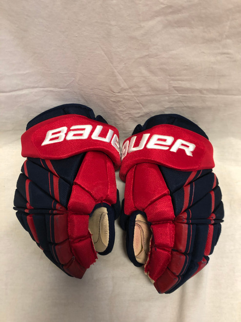 Caufield Game Used Bauer Team USA Gloves