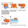 Aropec Swim Buoy Float Dry Bag - instructions