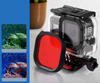 GoPro Hero8 Red Filter for Scuba Diving Blue Water