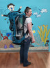 """Akona Havana SUP 10'6"""" - SUP and accessories all fit in backpack for transportation."""