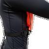 Snorkeling vest adjustable strap secure around the waist