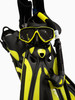 Tusa Ceos Diving Package -Black/Yellow