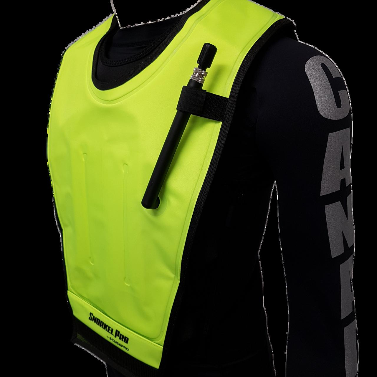 Black//Yellow X-Small Details about  /Scubapro Cruiser Snorkeling Vest