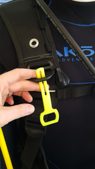 Stretchy Silicone Octo Holder - attach to any BCD