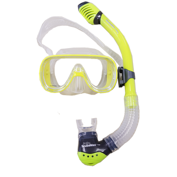 Kid's Mask & Dry Snorkel Set