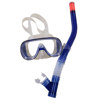 Kid's Mask & Snorkel Set - Blue