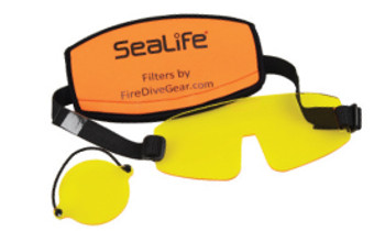 Sea Dragon Fluoro Dual Beam Light Mask and Camera Filters
