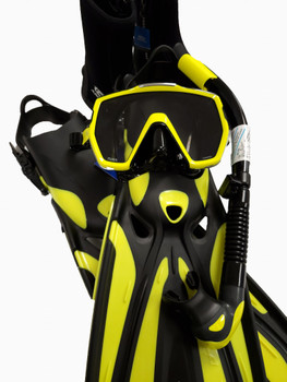 Tusa Freedom HD Diving Package - Black/Yellow