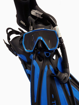 Tusa Freedom HD Diving Package - Black / Blue