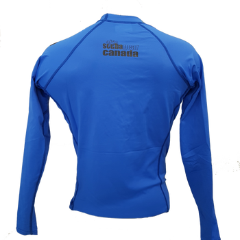 Blue Rashguard- back