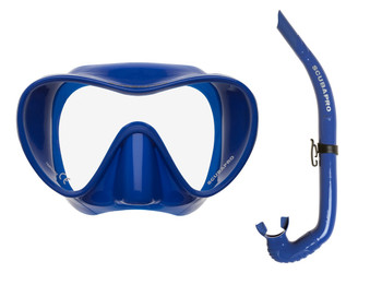 Trinidad / Apnea Free-Diving Set - Blue