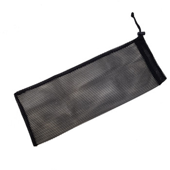 Small mesh bag fits mask and snorkel