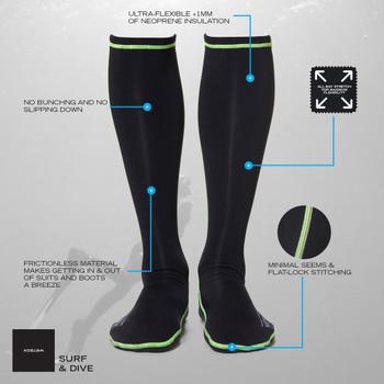 Wetsox Wetsuit Socks