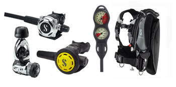 Scubapro Litehawk & Regulator Package  - MK17 / A700