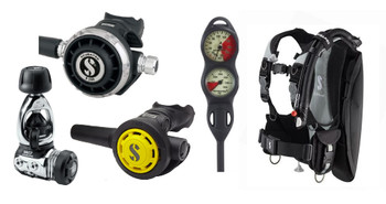 Scubapro Litehawk & Regulator Package  - MK17 / G260
