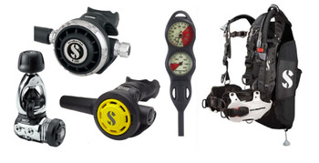 Scubapro Hydros & Regulator Package - MK17 / G260