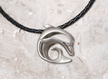 Pewter Dolphin