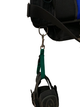 Fin Keeper Strap - Attach to BCD dring
