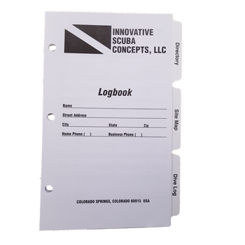 Logbook Pages with Tabbed Dividers
