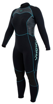 Akona Quantum Stretch Wetsuit - Teal