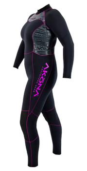 Akona Quantum Stretch Wetsuit - Pink