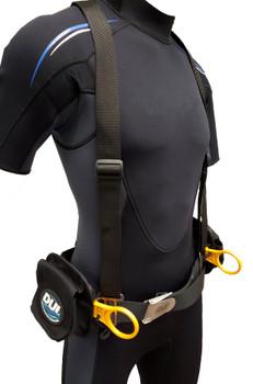 DUI Weightbelt Harness Version 3.0 - Small Pockets