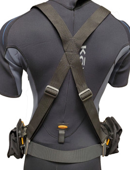 DUI Weightbelt Harness Version 3.0 - Back view