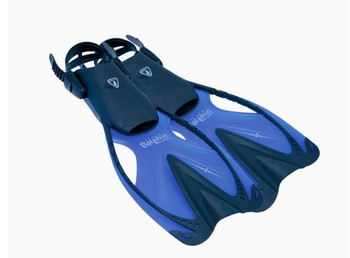 Kids fins - Small - Blue