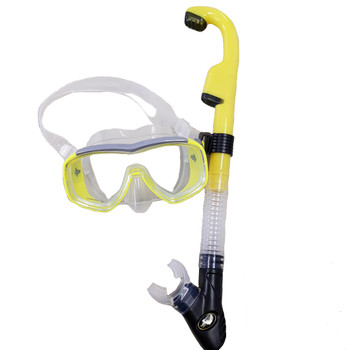 Barracuda Semi-Dry Snorkel Set