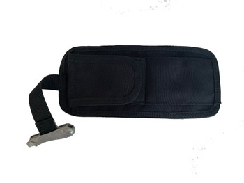 Integrated weight pouch