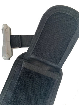 Integrated weight pouch for BCD