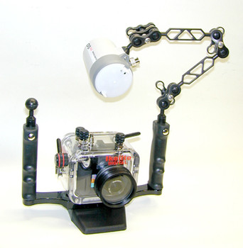 Enhanced Ball Mount - 15 Degree - Attach to tray, arms, strobe