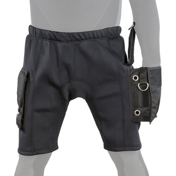 Highland neoprene pocket shorts