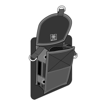 Highland Glue-On Pocket for wetsuit or drysuit - inside