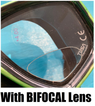 Ceos Mask with Bifocal Lens