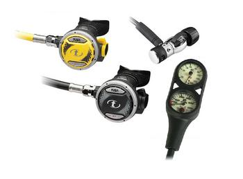 Tusa RS1207 / SS7 Regulator Package for Scuba Diving
