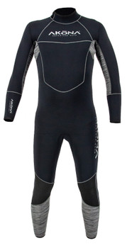 Akona 5mm Quantum Stretch Wetsuit - Front View