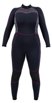 Akona 5mm Quantum Stretch(v.2019) Wetsuit Ladies - Front View