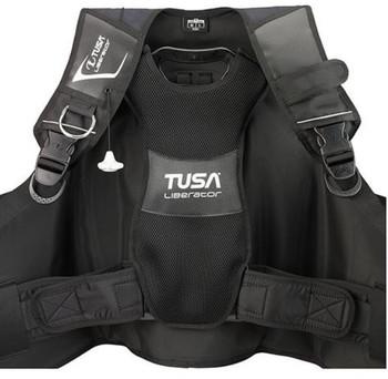 Tusa Liberator BCD - padded back for comfort