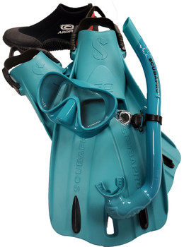 Scubapro Trinidad & Apnea Travel Package - Teal